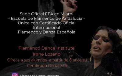 Flamenco Dance Institute – Irene Lozano – Miami